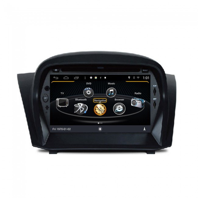 ford fiesta android 4 4 4 s160 autoradio lettore dvd con navigatore gps android 4 4 4 s160. Black Bedroom Furniture Sets. Home Design Ideas