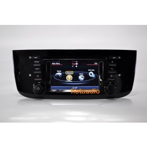 fiat punto autoradio dvd gps navigatore autoradio navigatore gps lettore dvd per fiat punto. Black Bedroom Furniture Sets. Home Design Ideas