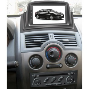 renault megane ii autoradio dvd gps navigatore autoradio navigatore gps lettore dvd per renault. Black Bedroom Furniture Sets. Home Design Ideas